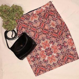 The Limited Multicolor Pencil Skirt